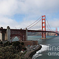 The San Francisco Golden Gate Bridge - 5d18909 by Wingsdomain Art and Photography