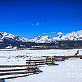 The Sawtooth Mountains by Robert Bales