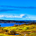 The Scenic Chambers Bay Golf Course Iv - Location Of The 2015 U.s. Open Tournament by David Patterson