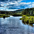 The Scenic Moose River by David Patterson