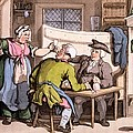 The Scold, With News Of Olivia by Thomas Rowlandson