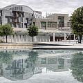 The Scottish Parliament by Ross G Strachan