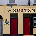 The Scottsmans Bar - Donegal Ireland by Bill Cannon