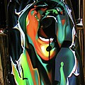 The Scream - Pink Floyd Airbrush Art by Susan Carella