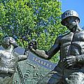 The Seabees At Arlington by Cora Wandel