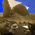 The Searchers   Cast And Crew Monument Valley Arizona 1956 by David Lee Guss