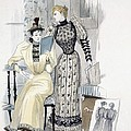 The Season, Fashion Plate For The by English School