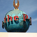 The Seattle Pi Globe Sign by Kym Backland