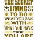 The Secret by John Hebb