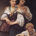 The Secret by William Bouguereau