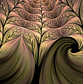 The Secret World Of Plants Abstract by Georgiana Romanovna