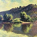 The Seine At Port-villez, 1883 by Claude Monet