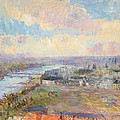 The Seine At Rouen by Albert Charles Lebourg