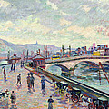 The Seine At Rouen by Jean Baptiste Armand Guillaumin