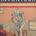 The Servant Of The Future -- A Robotic by Mary Evans Picture Library