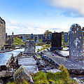 The Seven Churches Ruins On Inis Mor by Mark E Tisdale