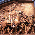 Saint Gaudens' The Shaw Memorial by Cora Wandel