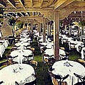 The Ship Cafe Dining Room In Venice Ca 1910 by Dwight Goss