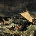 The Shipwreck by JMW Turner