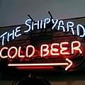 The Shipyard Cold Beer Neon Sign by Patricia E Sundik