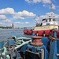 The Shipyard by Rosita Larsson