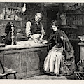 The Shopkeeper, Percy Macquoid, 1852-1925 by Percy Macquoid (1852-1925), English