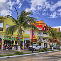 The Shops Of Cozumel by Jason Politte