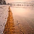 The Shore In Winter by Tara Turner