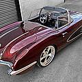 The Show Winner 1958 Corvette by Gill Billington