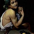 The Sick Bacchus, 1591  by Michelangelo Merisi da Caravaggio