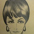 The Sixties And Fashion Hair by Martha Nelson