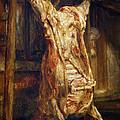 The Slaughtered Ox by Rembrandt Harmenszoon van Rijn