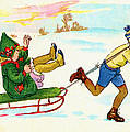 The Sled by Bill Cannon