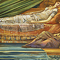 The Sleeping Princess by Sir Edward Burne-Jones