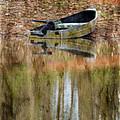 The Small Boat Photoart II by Debbie Portwood