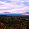 The Smokey Mountains From Hanging Rock State Park by Chris Flees