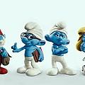The Smurfs Movie by Movie Poster Prints