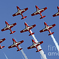 The Snowbirds Keeping It Tight by Bob Christopher