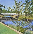 The South Nation River At Spencerville Historic Mill by Dorothy Krajewski