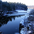 The St. Croix River In December by Mark Hudon