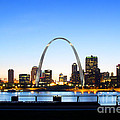 The St. Louis Skyline by Cindy Tiefenbrunn
