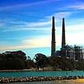 The Stacks Moss Landing Ca by Joyce Dickens
