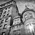 The Stafford Hotel - Grayscale by Brian Wallace