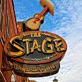 The Stage On Broadway by Dan Sproul