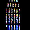 The Stained Glass Windows Of Mary's Church In Nazareth by Anthony Doudt