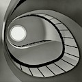 The Staircase In Mr. And Mrs. Albert by Fred Lyon