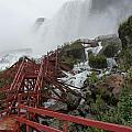 The Stairs To The Cave Of The Winds - Niagara Falls by Rhonda Chase