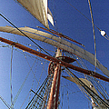 The Star Of India. Mast And Sails by Ben and Raisa Gertsberg
