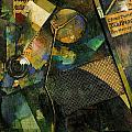 The Star Picture 1920 by Kurt Schwitters