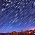 The Star Trail In Ithaca by Paul Ge